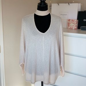 V-Cut Out Sweater
